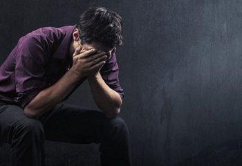 افسردگی در پسران جوان لاغر